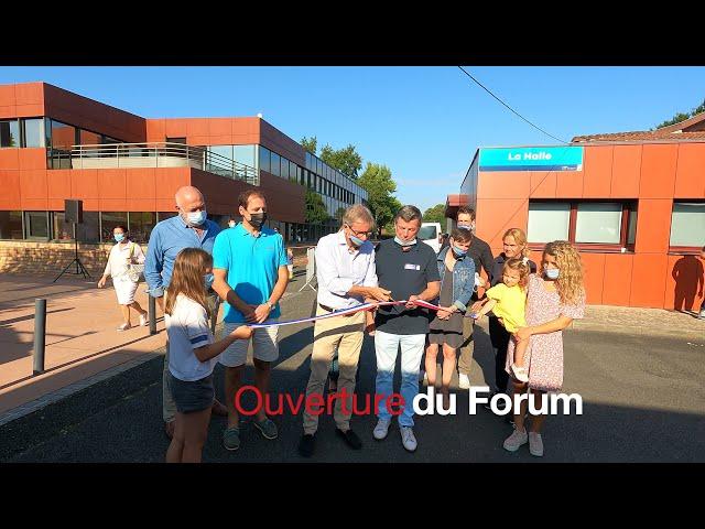 FA05 - Ouverture Officielle du Forum des Associations  Lège-Cap Ferret.