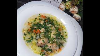 Рисовый суп на курином бульоне: рецепт от Foodman.club