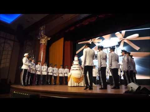 MC JO in Malaysia PDRM sword bearers  & bagpiper wedding march in