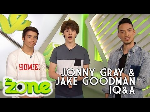 Jonny Gray and Jake Goodman's iQ&A  YouTube Exclusive  The Zone