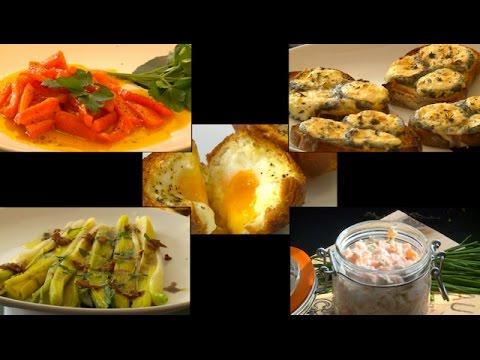 Les Meilleures Entrees De La Cuisine De Bistrot Meteo A La Carte