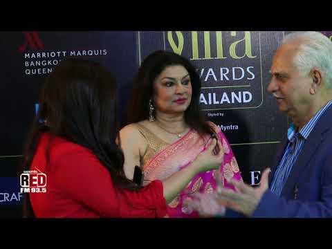 IIFA 2018 | Ramesh Sippy and Wife Kiran Juneja | IIFA Rocks Green Carpet | Bangkok | Thailand