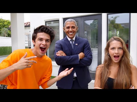 SURPRISING MY FRIENDS WITH PRESIDENT OBAMA!!