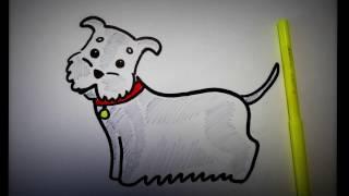 Как нарисовать собаку поэтапно? Рисуем сами пса.