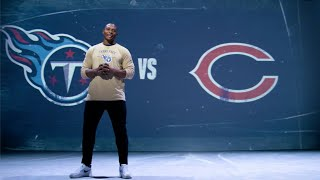 Eddie George Hypes You Up For Titans-Bears Game
