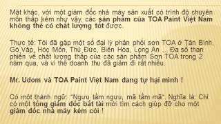 TOA Paint Vietnam & Pham The Kiet