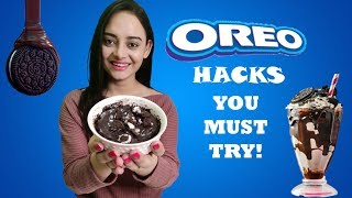 OREO HACKS YOU MUST TRY !! | Life Shots