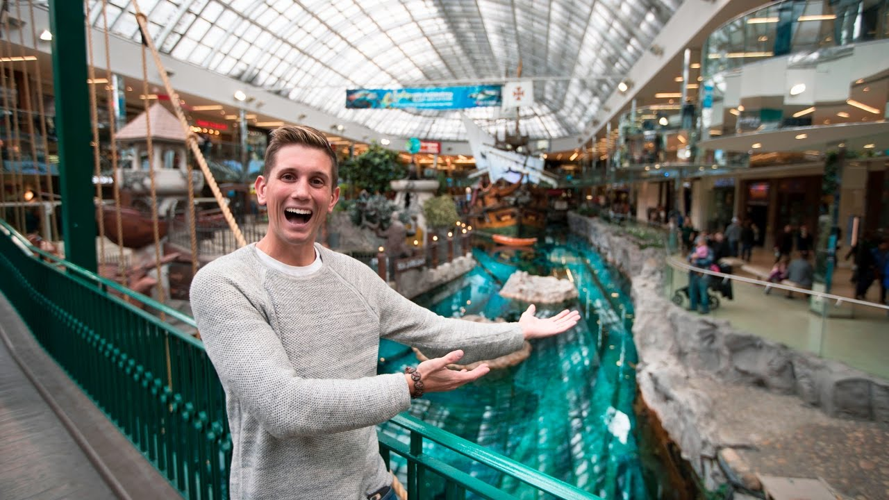 LARGEST MALL IN NORTH AMERICA - West Edmonton Mall - YouTube