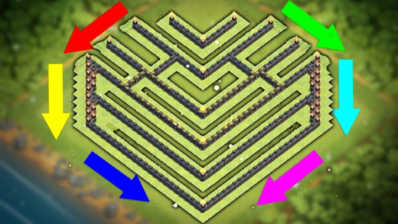 town hall level 10 war base