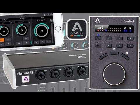 Le tour de l'Apogee Element Control, Control Remote et Appli iOS