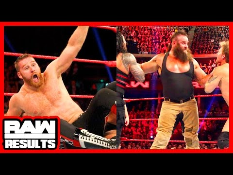 SURVIVOR SERIES ROSTER SWAPS? WWE Raw 11/7/16 Review (Going in Raw Podcast Ep. 119)