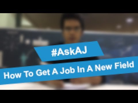 How To Land A Job In A New Domain | #AskAJ Question