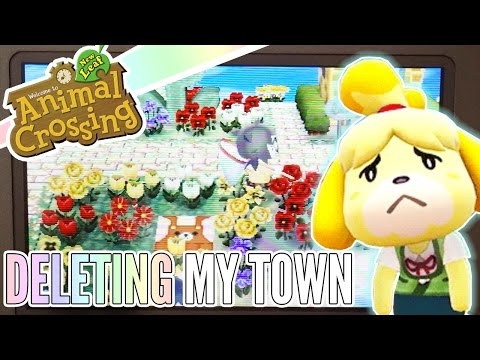 Sorry, Isabelle ❖ Deleting My First Animal Crossing Town