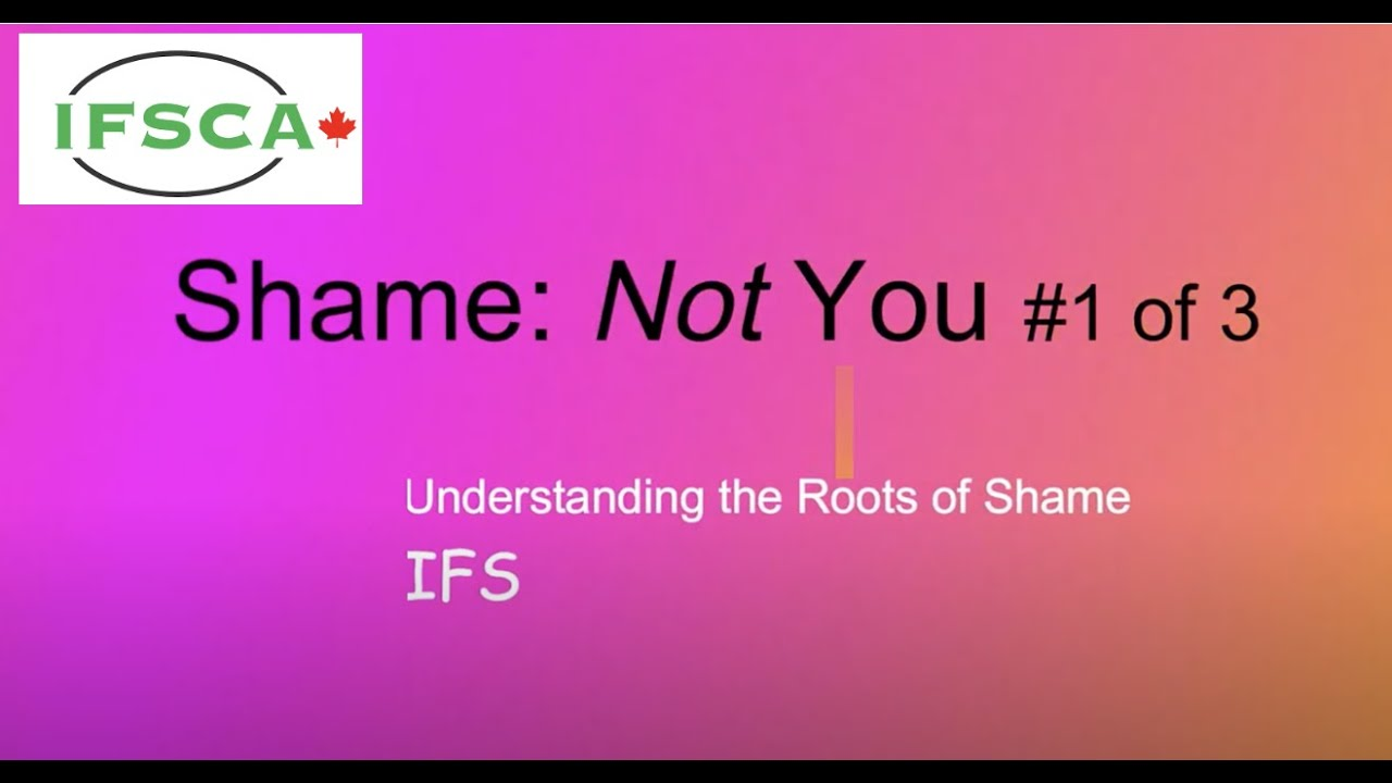 Download Shame: Understanding the Not You (IFS) #1 of 3