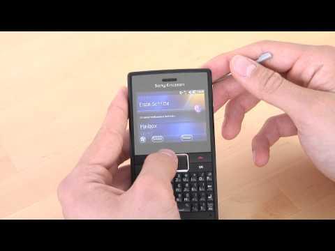 Sony-Ericsson Aspen Bedienung