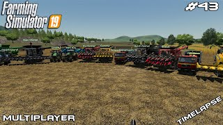 600.000$ Corn harvest | The Valley The Old Farm | Multiplayer Farming Simulator 19 | Episode 43