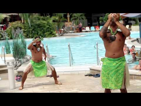 Cook Islands Flashmob Therme Erding