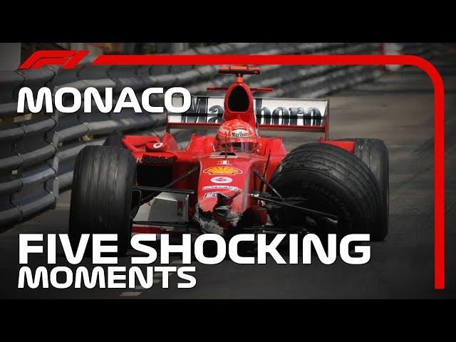 Five Shocking Moments at the Monaco Grand Prix