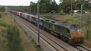 NSW Railways: Main North and Hunter Valley 26 April 2011