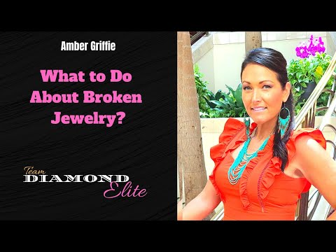 Broken Jewelry - Paparazzi Jewelry and Accessories Team Diamond Elite