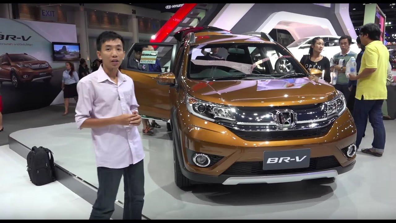 Chi tiết Honda BR-V tại triển lãm Bangkok Motor Show 2016