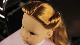 Puppen Frisur Zopf // Deutsch // Götz Puppenmanufaktur