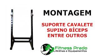 Montagem Suporte Cavalete - Fitness Prado