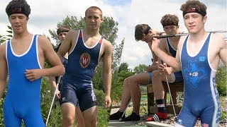 Wrestlers Try To MINI GOLF
