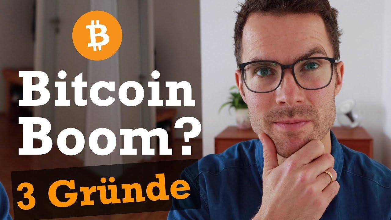 Bitcoin erklärt: 3 Gründe für den Boom