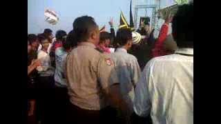 Polisi Goyang SKA with tipe-x & X-Friends @karawang