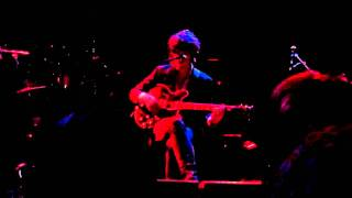 Jack Ladder performing solo at the Metro Theatre, Sydney. January 2...