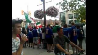 Corso Italia Celebrates Azzurri Win!