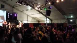 Poco-Poco dance flash mob at Pasar Malam Indonesia 2013, Malieveld, Den Haag