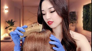 [ASMR] Relaxing Hair Treatment ~ Argan Oil Hair Mask