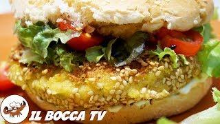 507 - Burger vegano..per chi vuole andar lontano (sfiziosità a base di verdure facile e gustosa)