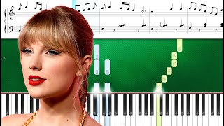 Taylor Swift - Forever & Always (Piano Version) (Piano Tutorial Sheets)