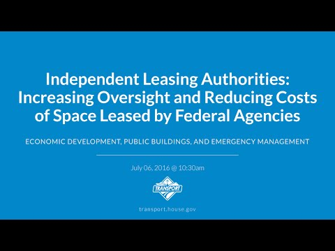 Independent Leasing Authorities: Increasing Oversight and Reducing Costs