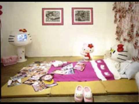 Creative Hello Kitty Bedroom Decor