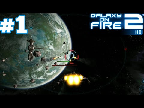 Galaxy On Fire 2 HD Android IOS Gameplay Walkthrough #1 Destination Var Hastra
