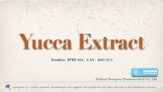 Factory supply Yucca Extract,CAS:8047-15-2
