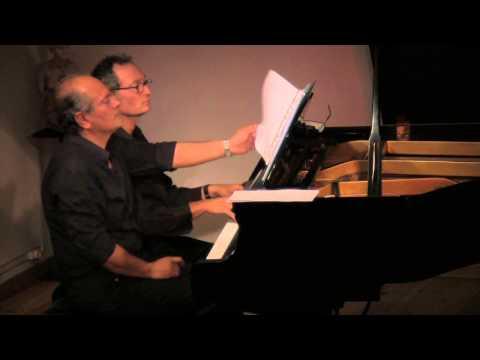 Piano Duo: Aldo de Vero and  Giuseppe Campisi, September 27 2014 at the Atelier de la Main d'Or