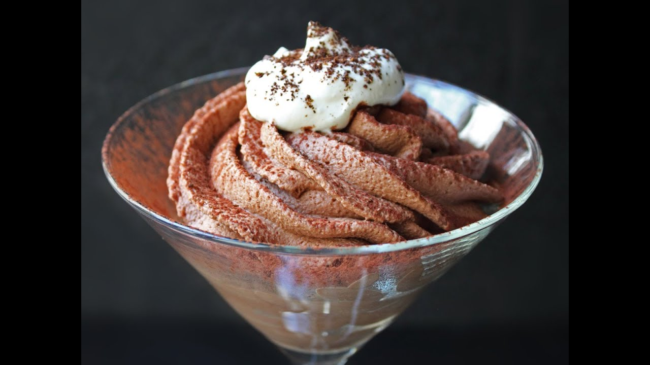 Tiramisu Chocolate Mousse Recipe - Valentine's Chocolate ...