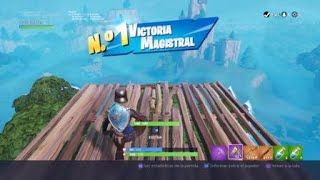 Fortnite Game Won with Royal Lady ( 6 Kills )