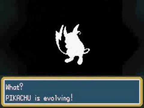 Pokemon Fireredmy Pikachu Evolved Youtube