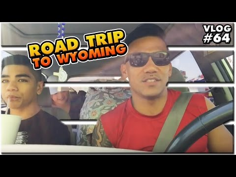 VLOG #64: Road Trip | Squats | Cheyenne WY