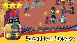 Super.Hero Defense Game for Bat.man V Super.man - Recommend index three stars