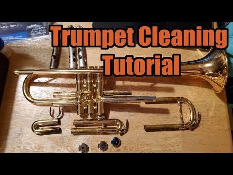 Big N Band | Trumpet Cleaning Tutorial | Read Description