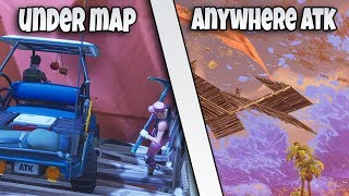*NEW* HOW TO GET UNDER THE MAP ANYWHERE EASY ATK GLITCH SPOT | FORTNITE BR GLITCH