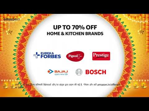 Amazon Great Indian Festival - Starts 3rd October | Boxes of Happiness | Home and Kitchen