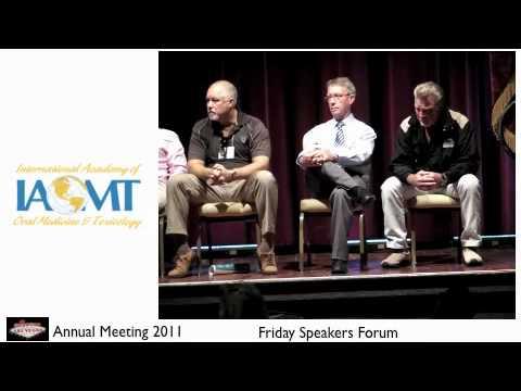 2011 Las Vegas Friday IAOMT Speakers Forum